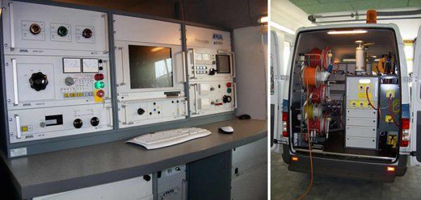 Оборудование передвижной электролаборатории